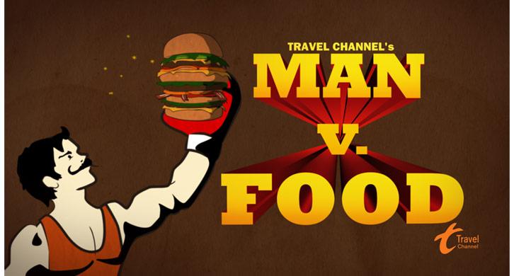 Man-v-food